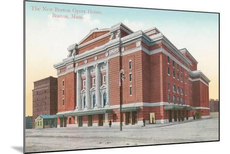 Boston Opera House--Mounted Art Print