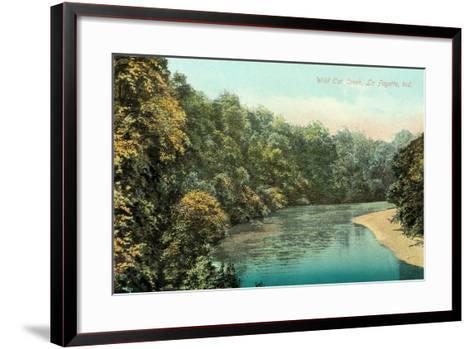 Wild Cat Creek, Lafayette--Framed Art Print
