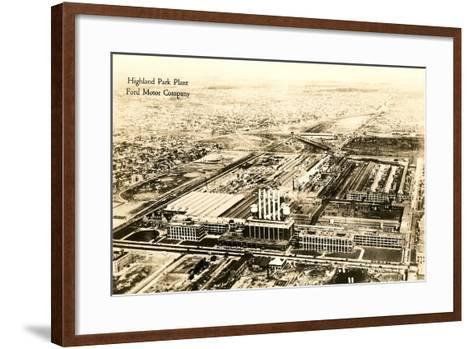 Ford Highland Park Plant--Framed Art Print