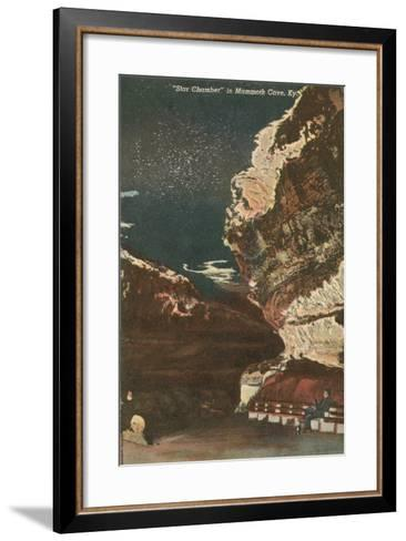 Mammoth Cave, Star Chamber--Framed Art Print