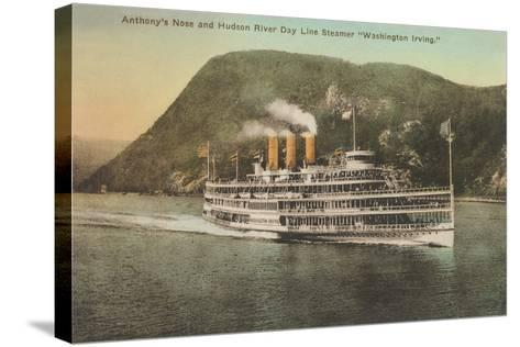 Anthony's Nose, Hudson River--Stretched Canvas Print