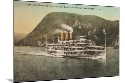 Anthony's Nose, Hudson River--Mounted Art Print