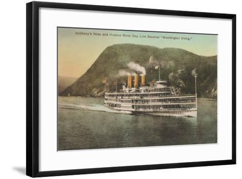 Anthony's Nose, Hudson River--Framed Art Print