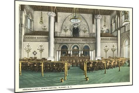 Assembly Hall, Albany--Mounted Art Print