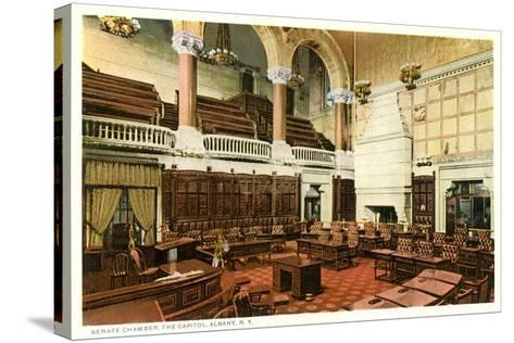 Senate Chamber, Albany--Stretched Canvas Print