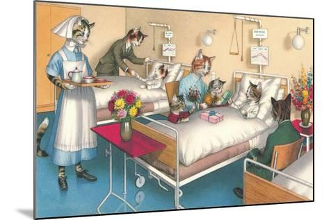 Cats in the Hospital--Mounted Art Print