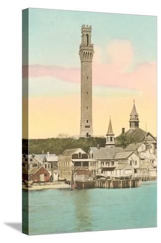 Vintage Provincetown--Stretched Canvas Print