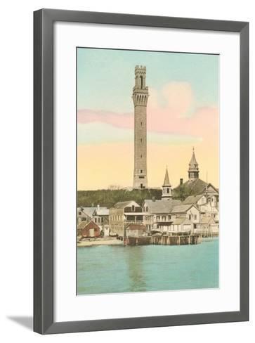 Vintage Provincetown--Framed Art Print