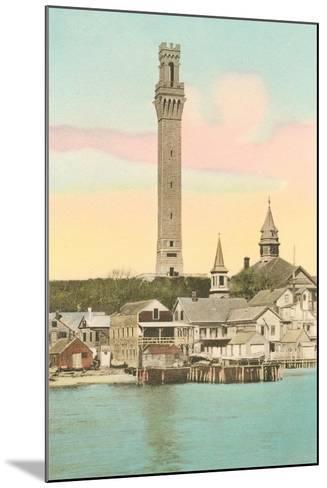 Vintage Provincetown--Mounted Art Print