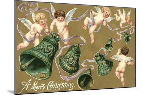 Cupids and Bell--Mounted Art Print