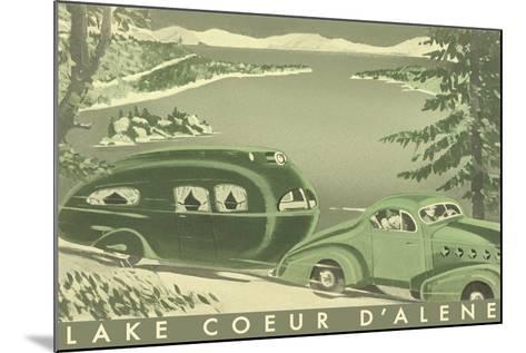 Lake Coeur D'Alene--Mounted Art Print