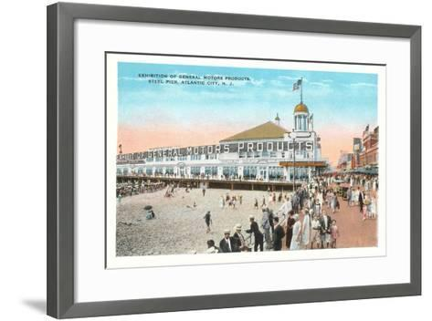 Steel Pier, Atlantic City--Framed Art Print