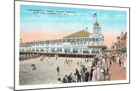 Steel Pier, Atlantic City--Mounted Art Print