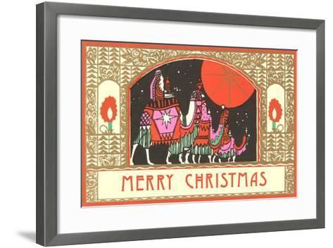 The Three Wisemen--Framed Art Print