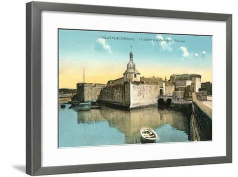 Fortress at Concarneau--Framed Art Print