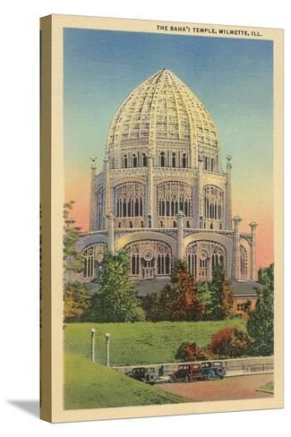 Baha'I Temple, Wilmette, Illinois--Stretched Canvas Print