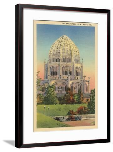 Baha'I Temple, Wilmette, Illinois--Framed Art Print