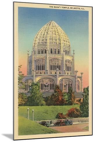 Baha'I Temple, Wilmette, Illinois--Mounted Art Print