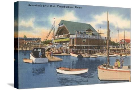 Kennebunk River Club, Kennebunk Port--Stretched Canvas Print
