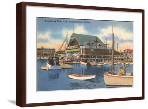 Kennebunk River Club, Kennebunk Port--Framed Art Print