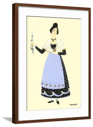 Native Costume of Provance--Framed Art Print