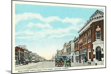 Main Street, Newton--Mounted Art Print