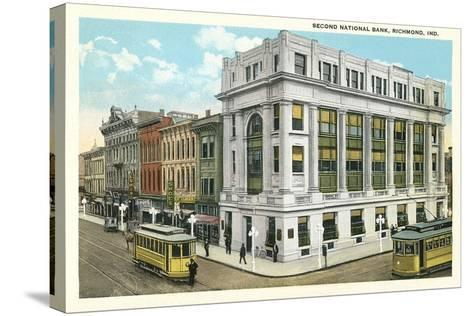 Second National Bank, Richmond--Stretched Canvas Print