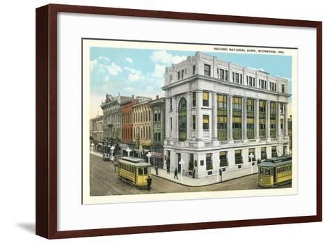 Second National Bank, Richmond--Framed Art Print