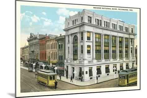 Second National Bank, Richmond--Mounted Art Print
