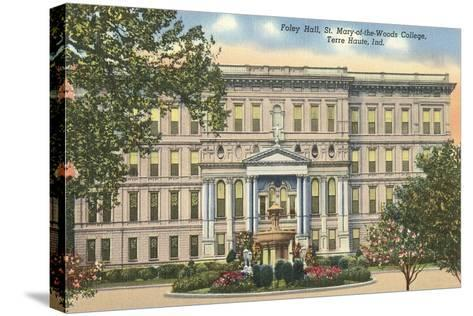 St, Mary of the Woods College, Terre Haute--Stretched Canvas Print