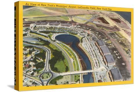 Aerial View of Laguardia Field--Stretched Canvas Print