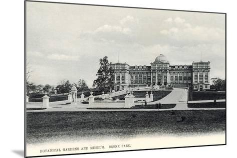 Botanical Gardens and Museum, Bronx Park--Mounted Art Print