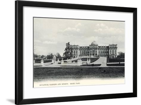 Botanical Gardens and Museum, Bronx Park--Framed Art Print