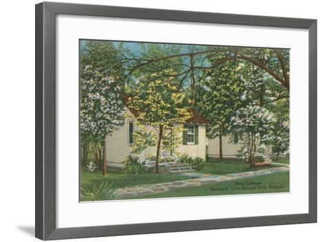 Mammoth Cave Hotel Cottages--Framed Art Print