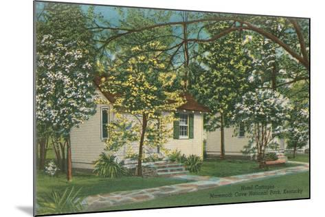 Mammoth Cave Hotel Cottages--Mounted Art Print