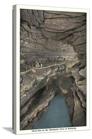 Mammoth Cave, Dead Sea--Stretched Canvas Print