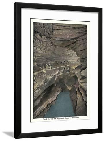 Mammoth Cave, Dead Sea--Framed Art Print