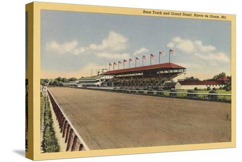 Race Track, Grandstands, Havre de Grace--Stretched Canvas Print