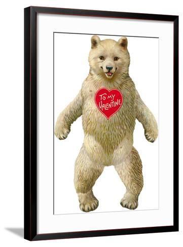 Bow-Legged Polar Bear--Framed Art Print