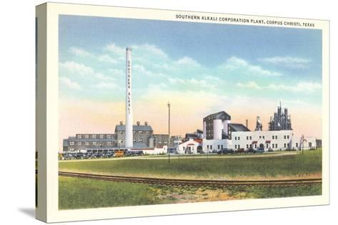 Southern Alkali Plant, Corpus Christi--Stretched Canvas Print