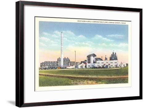 Southern Alkali Plant, Corpus Christi--Framed Art Print