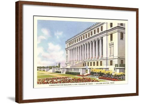 Texas a and M, College Station--Framed Art Print