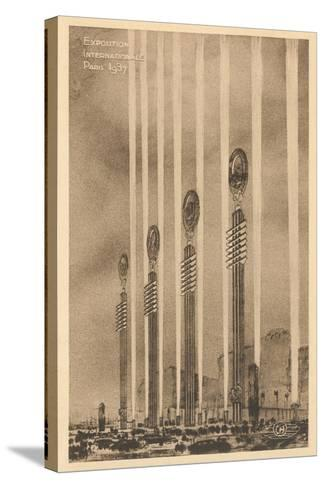 International Exposition--Stretched Canvas Print