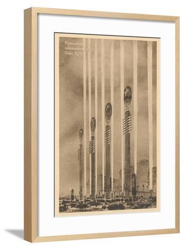 International Exposition--Framed Art Print