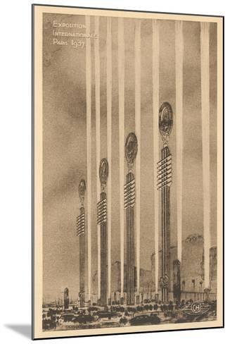 International Exposition--Mounted Art Print