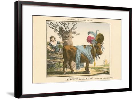 Le Boeuf a La Mode Resaurant--Framed Art Print