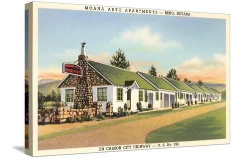 Moana Auto Apartments, Reno, Nevada--Stretched Canvas Print