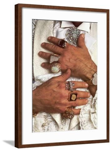 Too Many Big Rings--Framed Art Print