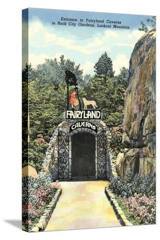 Fairy Land Caverns, Lookout Mountain--Stretched Canvas Print