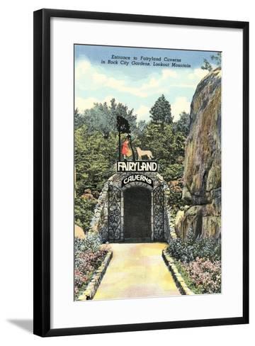 Fairy Land Caverns, Lookout Mountain--Framed Art Print